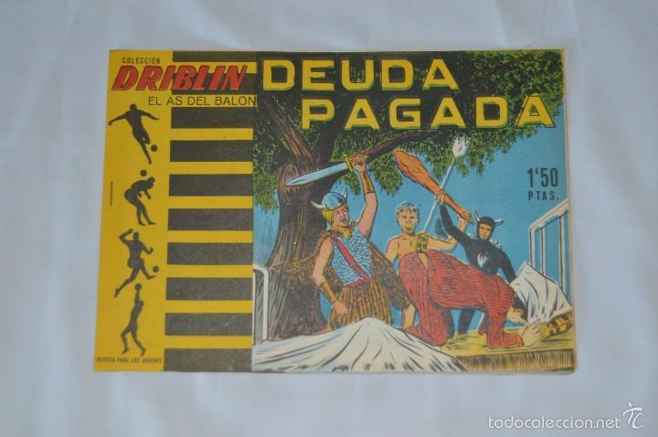COLECCIÓN DRIBLIN - EL AS DEL BALÓN - DEUDA PAGADA - NÚMERO 4 - 1961 - LITOGRAFIA BELKROM (Tebeos y Comics - Tebeos Otras Editoriales Clásicas)