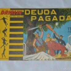 Tebeos: COLECCIÓN DRIBLIN - EL AS DEL BALÓN - DEUDA PAGADA - NÚMERO 4 - 1961 - LITOGRAFIA BELKROM. Lote 57091231