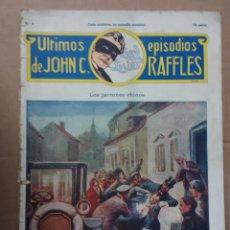 Tebeos: ULTIMOS EPISODIOS DE JOHN C.RAFFLES. Lote 57125816