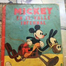 Tebeos: MICKEY EN EL VALLE INFERNAL. Lote 57144720