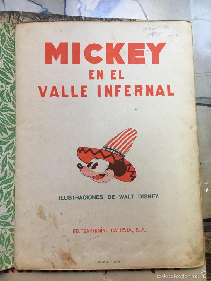 Tebeos: Mickey en el valle infernal - Foto 2 - 57144720