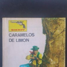 Tebeos: SHERIFF, CARAMELOS DE LIMON, COLECCION OESTE, EDITORIAL VILMAR, 1983. Lote 57267553