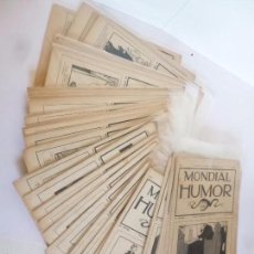 Tebeos: REVISTA MONDIAL HUMOR NºS 7 A 44 (FIN). COMPLETA A FALTA DE LOS NºS 1 A 6. BAGUÑA Y CORNET, 1912 . Lote 57326830