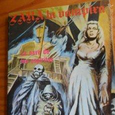Tebeos: ZARA LA VAMPIRA, Nº 10 - TOMO 130 PGNAS- ED. ELVIBERIA 1977. . Lote 57416917