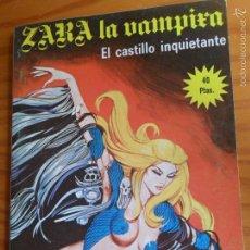 Tebeos: ZARA LA VAMPIRA, Nº 17 - TOMO 130 PGNAS- ED. ELVIBERIA 1977. . Lote 57416928