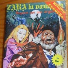 Tebeos: ZARA LA VAMPIRA, Nº 27 - TOMO 130 PGNAS- ED. ELVIBERIA 1977. . Lote 57416945