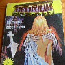 Tebeos: DELIRIUM, Nº 1 - TOMO 130 PGNAS- ED. ELVIBERIA 1977. . Lote 57417394