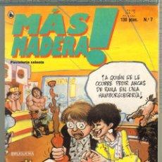 Tebeos: TEBEOS-COMICS CANDY - MAS MADERA - Nº 7 - ED. BRUGUERA - *AA99. Lote 57418429