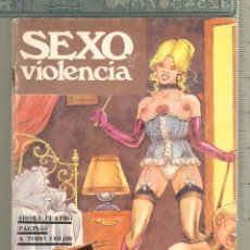 Tebeos: TEBEOS-COMICS CANDY - SEXO Y VIOLENCIA - Nº 7 - SOLO PARA ADULTOS - RARO - *AA99. Lote 57432669
