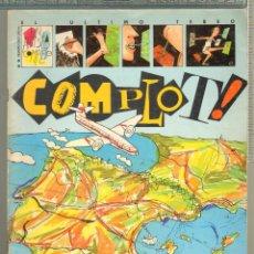 Tebeos: TEBEOS-COMICS CANDY - COMPLOT - Nº 0 - PRIMERO DE LA COLECCION - 1985 - *AA99. Lote 57439658