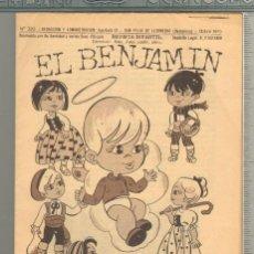 Tebeos: TEBEOS-COMICS GOYO - BENJAMIN - Nº 320 - REVISTA INFANTIL - 1958 - MUY RARA *AA99. Lote 57493248