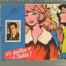 Tebeos: TEBEOS-COMICS GOYO - DBD - LE GUSTAN TODAS - 1964 - DIFICIL *AA99. Lote 57496540