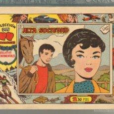 Tebeos: TEBEOS-COMICS GOYO - DOS CORAZONES - Nº 8 - INDEDI - 1958 - MUY DIFICIL *AA99. Lote 57496625