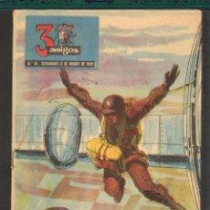 Tebeos: TEBEOS-COMICS GOYO - TRES 3 AMIGOS - Nº 45 - PPC - 1956 - DIFICIL *UU99. Lote 57499038
