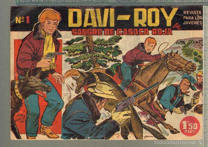 TEBEOS-COMICS CANDY - DAVI ROY- COMPLETA - CREO 1959 - COMPLETA - JOSE LUIS -OFERTA *XX99 (Tebeos y Comics - Tebeos Otras Editoriales Clásicas)