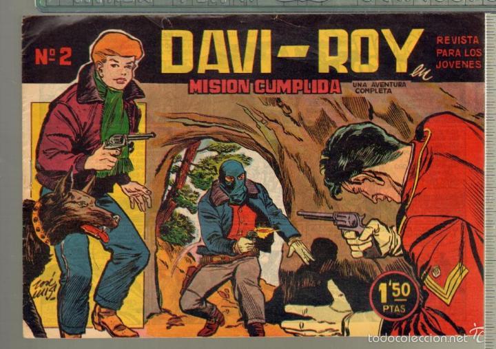 Tebeos: TEBEOS-COMICS CANDY - DAVI ROY- COMPLETA - CREO 1959 - COMPLETA - JOSE LUIS -OFERTA *XX99 - Foto 2 - 57518859