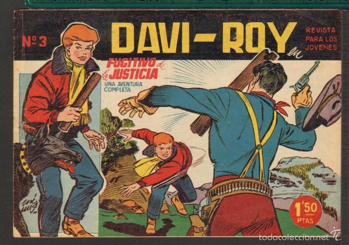 Tebeos: TEBEOS-COMICS CANDY - DAVI ROY- COMPLETA - CREO 1959 - COMPLETA - JOSE LUIS -OFERTA *XX99 - Foto 3 - 57518859