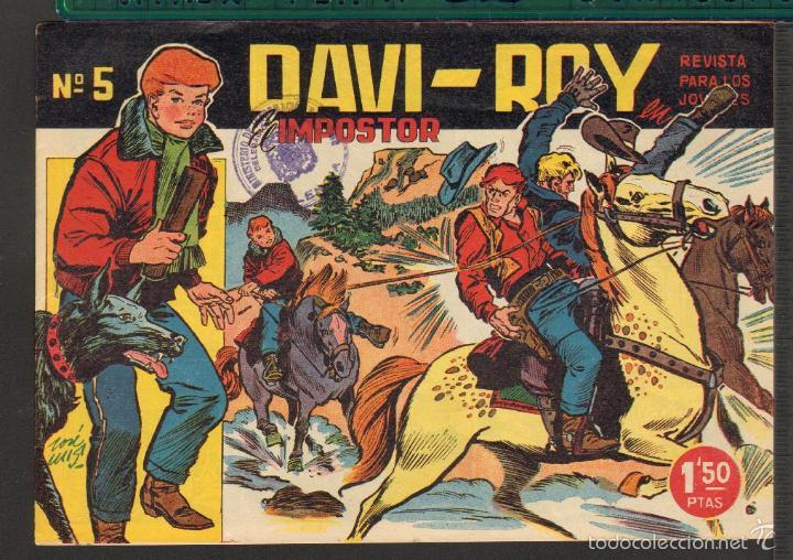 Tebeos: TEBEOS-COMICS CANDY - DAVI ROY- COMPLETA - CREO 1959 - COMPLETA - JOSE LUIS -OFERTA *XX99 - Foto 5 - 57518859