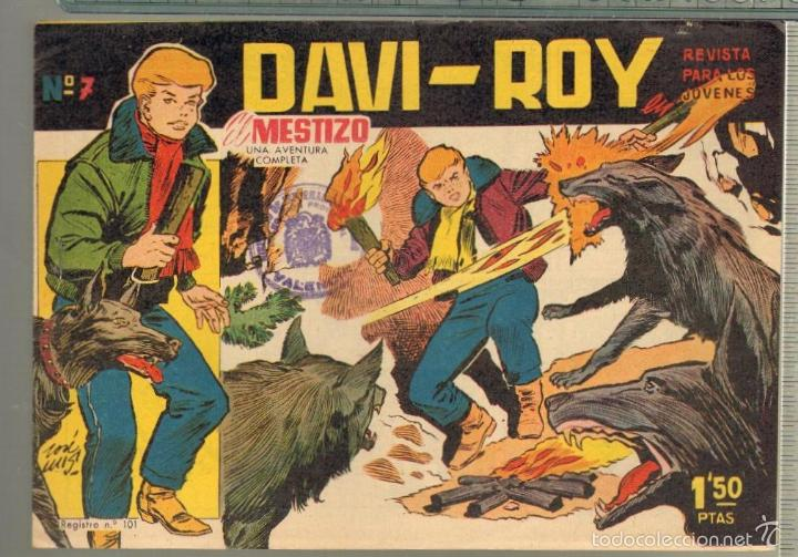 Tebeos: TEBEOS-COMICS CANDY - DAVI ROY- COMPLETA - CREO 1959 - COMPLETA - JOSE LUIS -OFERTA *XX99 - Foto 7 - 57518859