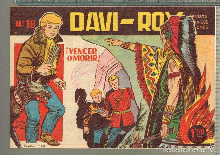 Tebeos: TEBEOS-COMICS CANDY - DAVI ROY- COMPLETA - CREO 1959 - COMPLETA - JOSE LUIS -OFERTA *XX99 - Foto 18 - 57518859