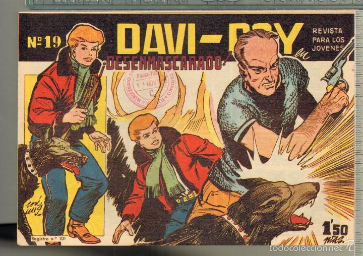 Tebeos: TEBEOS-COMICS CANDY - DAVI ROY- COMPLETA - CREO 1959 - COMPLETA - JOSE LUIS -OFERTA *XX99 - Foto 19 - 57518859