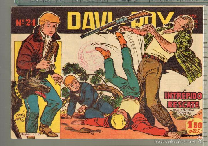 Tebeos: TEBEOS-COMICS CANDY - DAVI ROY- COMPLETA - CREO 1959 - COMPLETA - JOSE LUIS -OFERTA *XX99 - Foto 24 - 57518859
