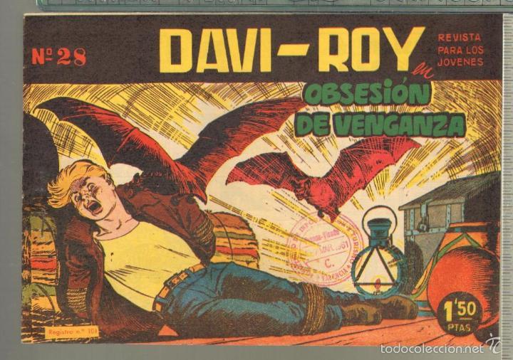 Tebeos: TEBEOS-COMICS CANDY - DAVI ROY- COMPLETA - CREO 1959 - COMPLETA - JOSE LUIS -OFERTA *XX99 - Foto 28 - 57518859