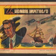 Tebeos: TEBEOS-COMICS GOYO - DIAMANTE NEGRO - Nº 62 - 1943 - LOPEZ RUBIO - MUY DIFICIL *AA99. Lote 57632677
