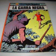 Tebeos: LA GARRA NEGRA - LAS AVENTURAS DE ALIX - OIKOS - TAU. Lote 57697053