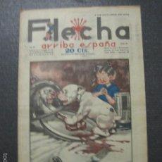 Tebeos: FLECHA - ARRIBA ESPAÑA - AÑO 1938-GUERRA CIVIL - FALANGE - NUM. 89 -RECORTABLE PEGOTE - VER FOTOS. Lote 57714922