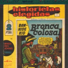 Tebeos: TEBEOS-COMICS CANDY - HISTORIETAS ELEGIDAS - Nº 7 - RAYO KID - JACK KIRBY - 1964 - RARO *AA99. Lote 57716878