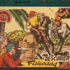 Tebeos: TEBEOS-COMICS CANDY - HOMBRES AVENTUREROS - Nº 4 - RICART - 1964 - RARISIMO *UU99. Lote 57717113