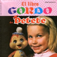 Tebeos: EL LIBRO GORDO DE PETETE - TOMO MAGENTA-Nº 6. Lote 57744498