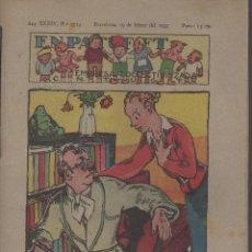 Tebeos: REVISTA EN PATUFET ANY XXXIV Nº 1714 BARCELONA 19 DE FEBRER 1937. Lote 74330479
