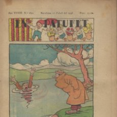 Tebeos: REVISTA EN PATUFET ANY XXXIII Nº 1671 BARCELONA 11 ABRIL 1936. Lote 57819576