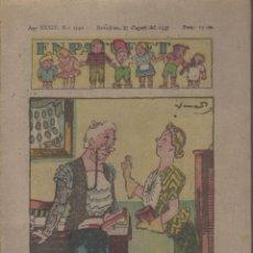 Tebeos: REVISTA EN PATUFET ANY XXXIV Nº 1740 BARCELONA 27 D'AGOST 1937. Lote 57820029