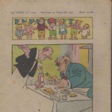 Tebeos: REVISTA EN PATUFET ANY XXXIV Nº 1739 BARCELONA 20 D'AGOST 1937. Lote 57820045