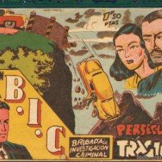 Tebeos: TEBEOS-COMICS CANDY - MARTIN VEGA DE LA BIC BRIGADA INV CRIMINAL-Nº 8 ULTIMO - RICART - 1951 - *UU99. Lote 57821363