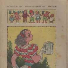 Tebeos: REVISTA EN PATUFET ANY XXXIV Nº 1738 BARCELONA 13 D'AGOST 1937. Lote 57901168