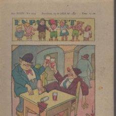 Tebeos: REVISTA EN PATUFET ANY XXXIV Nº 1735 BARCELONA 23 JULIOL 1937. Lote 57901645