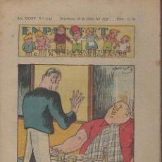 Tebeos: REVISTA EN PATUFET ANY XXXIV Nº 1734 BARCELONA 16 JULIOL 1937. Lote 57901755