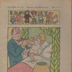 Tebeos: REVISTA EN PATUFET ANY XXXIV Nº 1733 BARCELONA 9 JULIOL 1937. Lote 57901875
