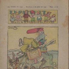 Tebeos: REVISTA EN PATUFET ANY XXXIV Nº 1732 BARCELONA 2 JULIOL 1937. Lote 57902119
