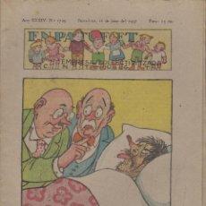 Tebeos: REVISTA EN PATUFET ANY XXXIV Nº 1729 BARCELONA 11 JUNY 1937. Lote 57902481