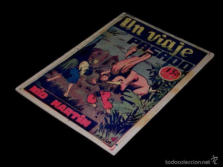 KID MARTIN Nº 2 Y ÚLTIMO. UN VIAJE AL PASADO. MARTÍNEZ OSETE, ED. FANTASIO BARCELONA, ORIGINAL 1946 (Tebeos y Comics - Tebeos Otras Editoriales Clásicas)
