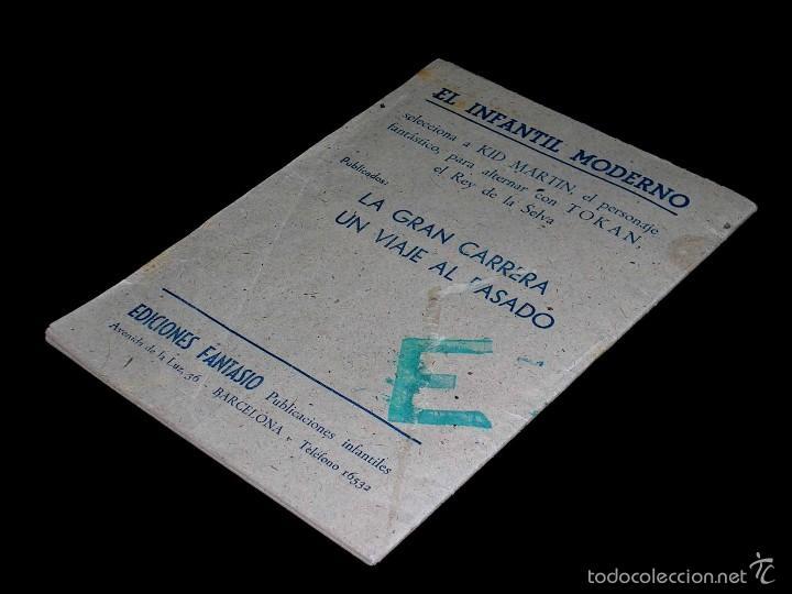 Tebeos: Kid Martin nº 2 y último. Un viaje al pasado. Martínez Osete, Ed. Fantasio Barcelona, original 1946 - Foto 6 - 58083558