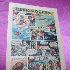 Tebeos: BUCK ROGERS EN EL SIGLO 25 HOJA DOMINICAL AÑOS 40 50 27 X 38 CM,. Lote 58268009