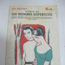 Tebeos: NOVELAS Y CUENTOS. Nº 1655. DIARIO DE UN HOMBRE SUPERFLUO. Lote 58274709