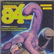 Livros de Banda Desenhada: ZONA 84. ANTOLOGÍA Nº 4. CONTIENE LOS EJEMPLARES : 11,12.. Lote 58554208