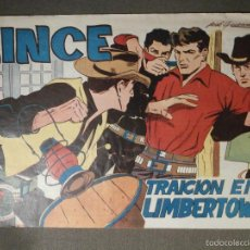 Tebeos: COMIC - LINCE Nº 15 - TRAICIÓN EN UMBERTOWN - EDICIONES GEMEX - AÑO 1958. Lote 58644907